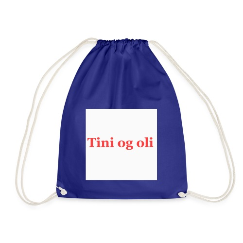 Tini og oli merch - Gymbag