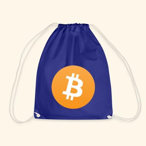 Bitcoin Logo Geschenk für Bitcoinsammler - Turnbeutel