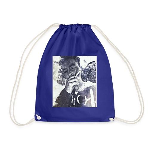 Angle dash - Drawstring Bag