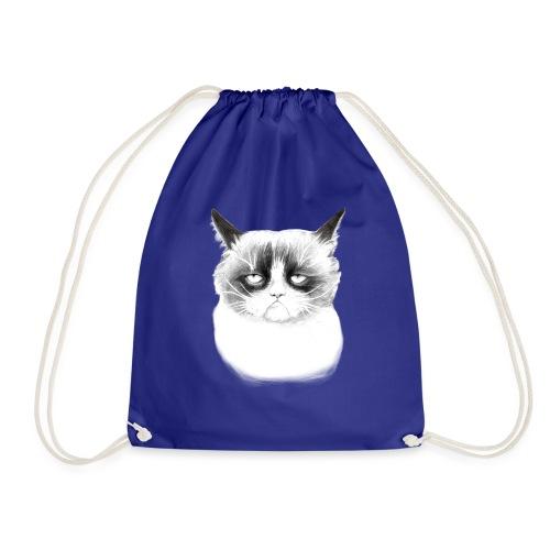 Grumpy Cat - Drawstring Bag