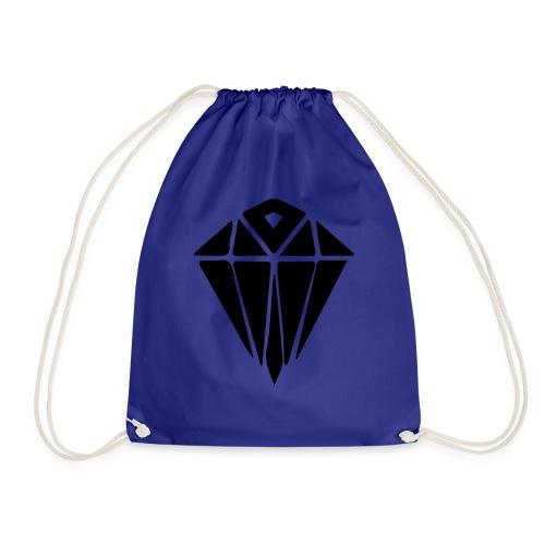 black diamond - Drawstring Bag