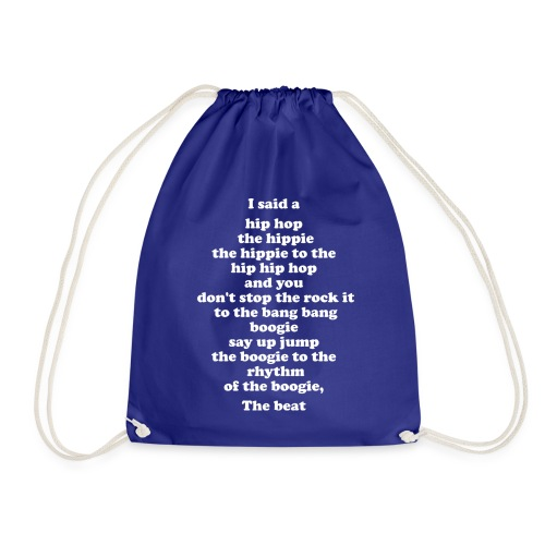 Hip Hop 1-2-1-2 - Drawstring Bag