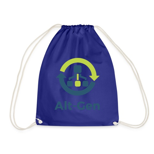 Alt-Gen Logo - Drawstring Bag