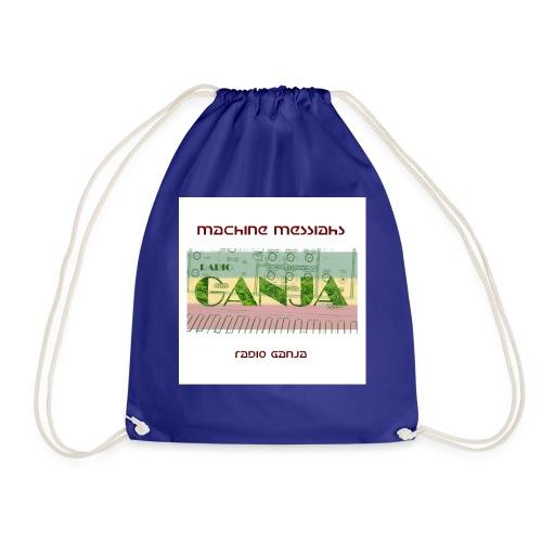 radio ganja - Drawstring Bag