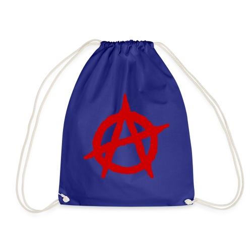 Anarchy logo rosso - Sacca sportiva