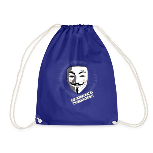Anonymous Love Your Rage - Drawstring Bag