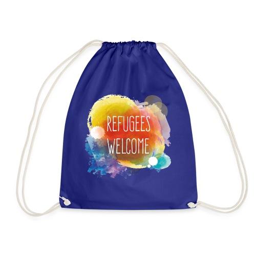 Refugees Welcome - Mochila saco