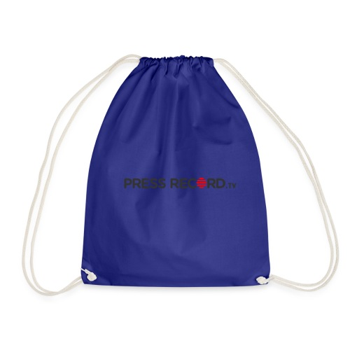 PressRecordTV - Drawstring Bag