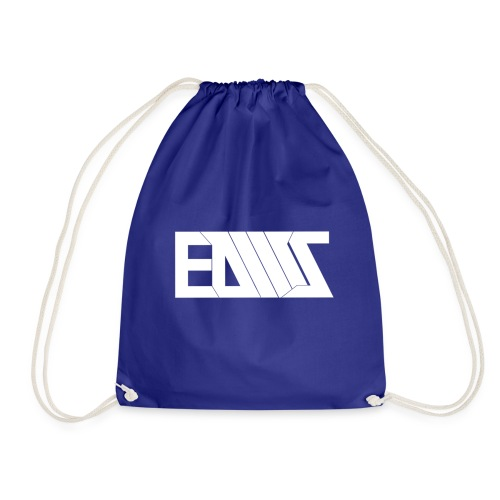 Black T-shirt EDMS - Drawstring Bag