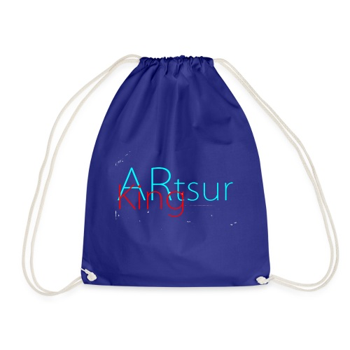 ARtsurKing Logo - Drawstring Bag