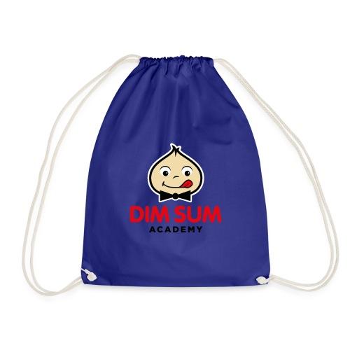 Dim Sum Academy Logo noir - Sac de sport léger