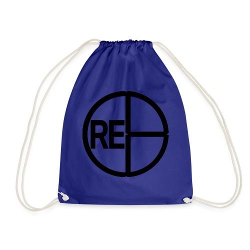 CRE8LogoBlack - Drawstring Bag