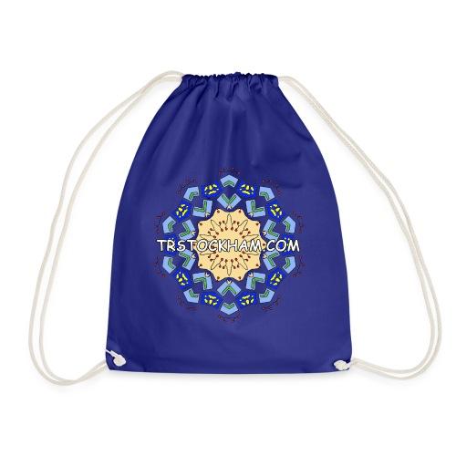 Enjoyably Quirky Colouring Book Design 7 - Drawstring Bag