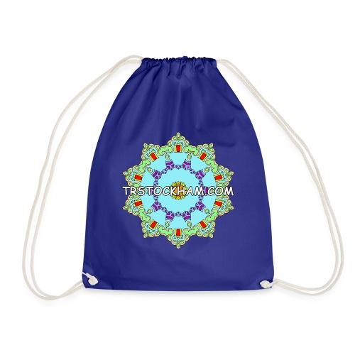 Enjoyably Quirky Colouring Book Design 9 - Drawstring Bag