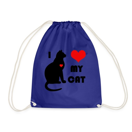 I love my cat - Sac de sport léger