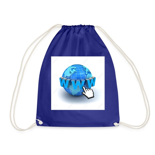 14821565-Internet-world-wide-web-concept-Earth-glo - Gymnastikpåse
