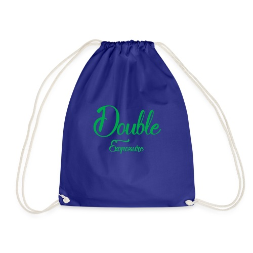 Double exposure - Drawstring Bag