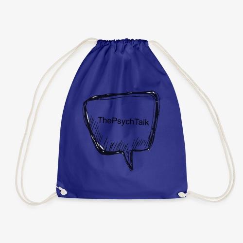 The Psych Talk - Speech Bubble - Drawstring Bag