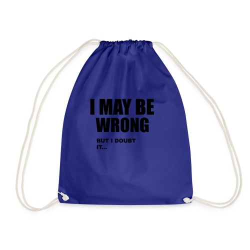 WRONG - Drawstring Bag