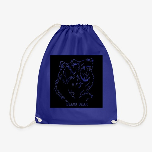 black bear - Drawstring Bag