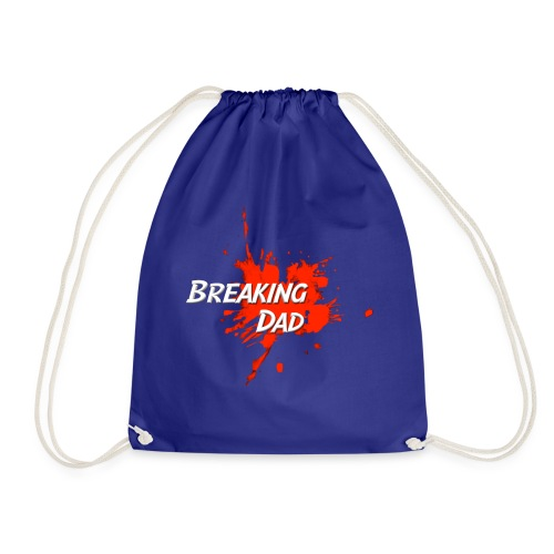 Breaking Dad logo - Drawstring Bag