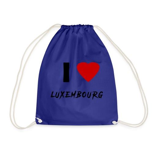 I ♥ Luxembourg - Turnbeutel