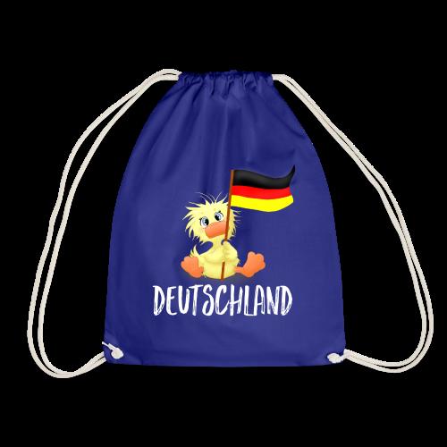 WEmmi Deutschland - Schrift in Weiß - Turnbeutel