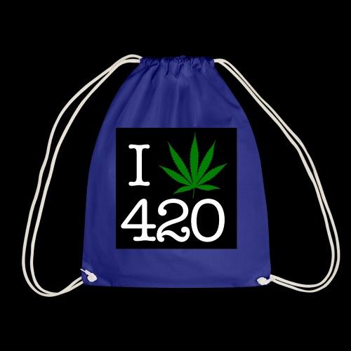 WEED 420 MERCH - Drawstring Bag