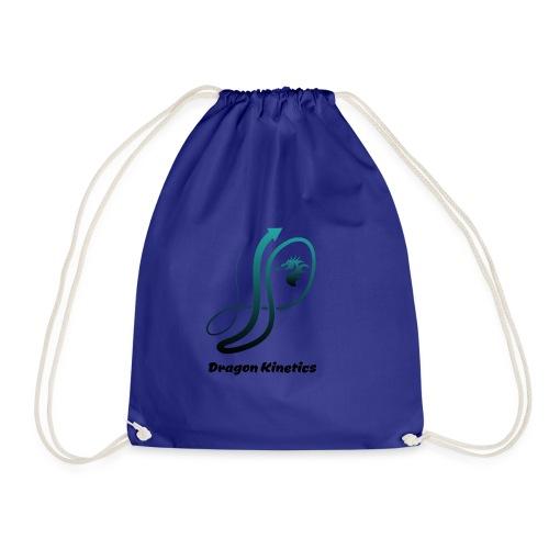 Dragon Kinetics green logo - Drawstring Bag