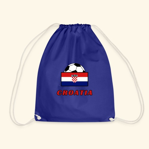CROATIA TEAM design - Drawstring Bag