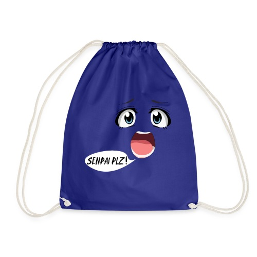 Senpai plzz! Anime face :O - Drawstring Bag