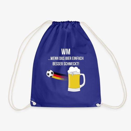 WM ...wenn das Bier einfach besser schmeckt! - Turnbeutel