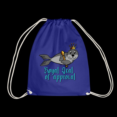 The Royal Seal of approval - Drawstring Bag