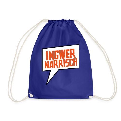 Ingwer Narrisch Logo - Turnbeutel