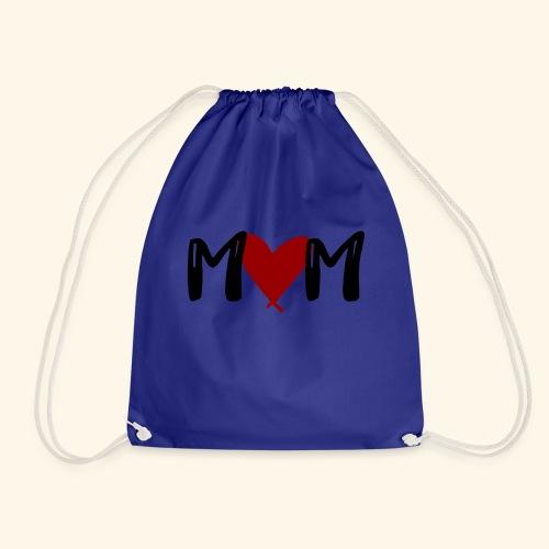M♥M - Mom mit Herzen - Turnbeutel