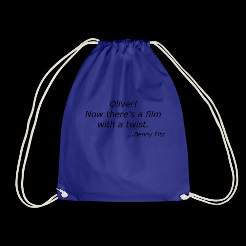 BENNY FITZ - OLIVER TWIST FUNNY QUOTE / JOKE - Drawstring Bag