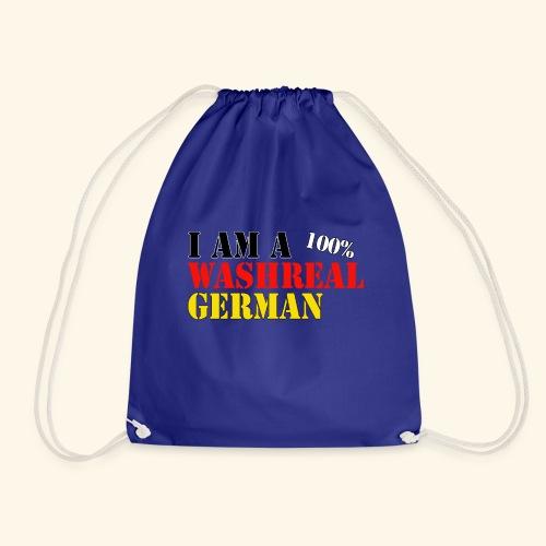 I'm a washreal German - ein waschechter Deutscher - Turnbeutel