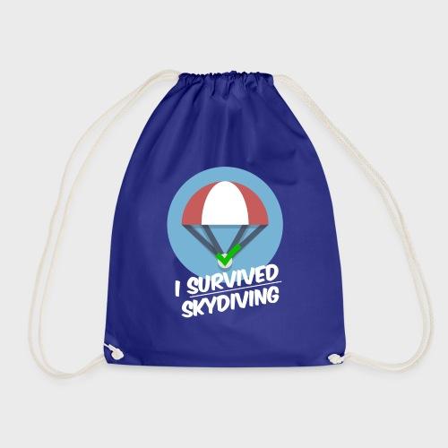 I survived Skydiving - Turnbeutel
