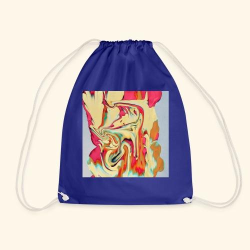 Psychedelic Art 3 - Drawstring Bag