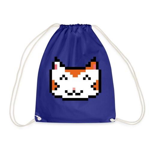 PixelSimpleCat - Drawstring Bag