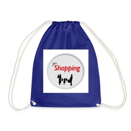 logo go shopping - Mochila saco