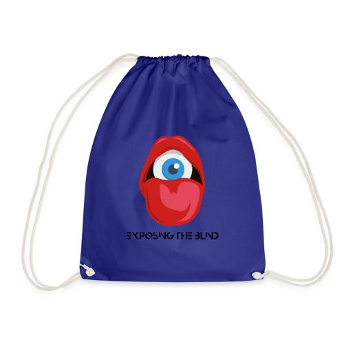 Exposing the blind Logo - Drawstring Bag