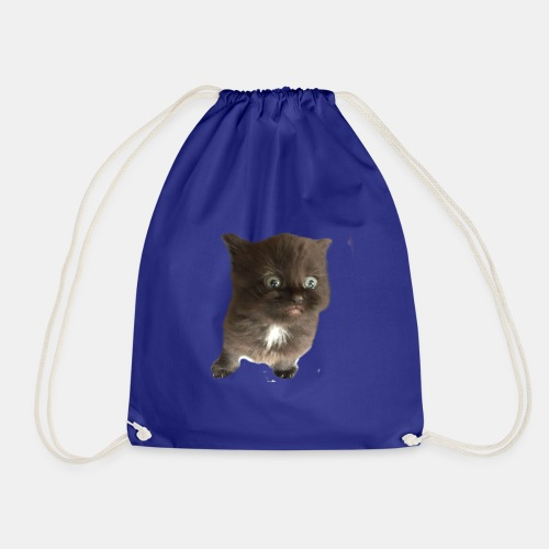Scaredy Cat Oliver - Drawstring Bag