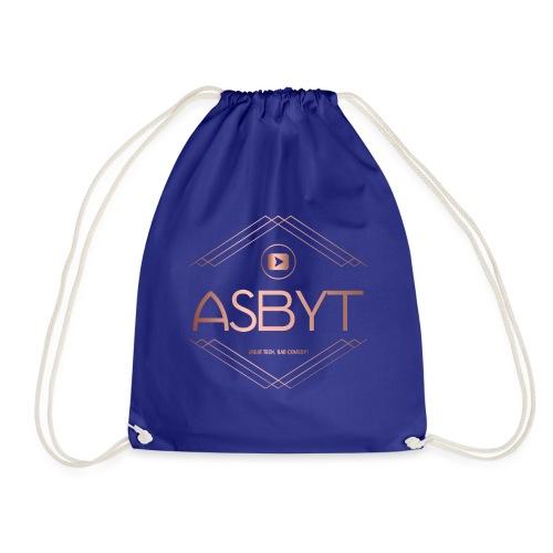color logo transparent - Drawstring Bag