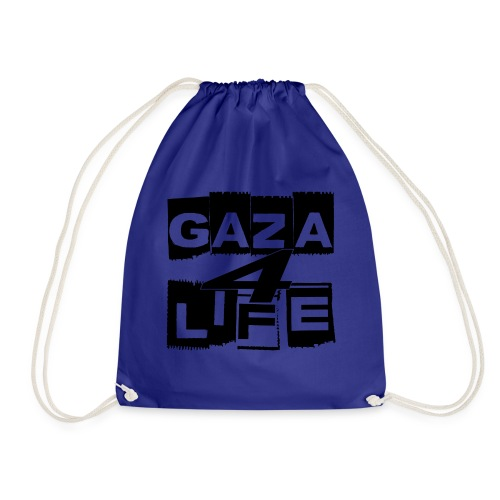 Gaza 4 Life [T-Shirt] - Drawstring Bag