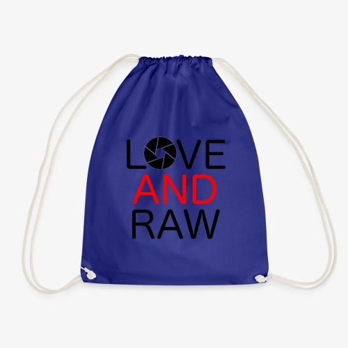Love Raw - Drawstring Bag