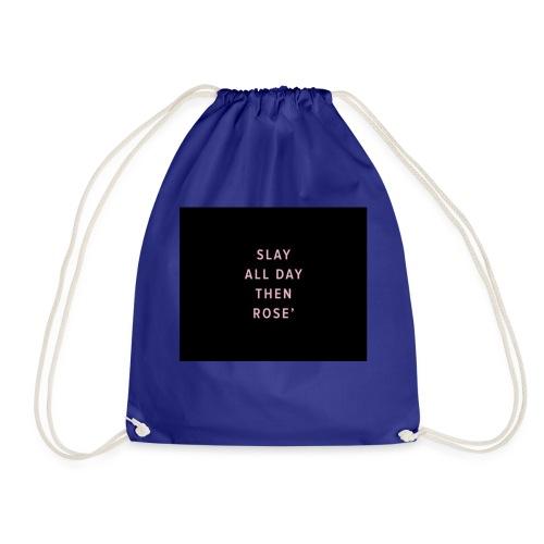 Slay all day - Drawstring Bag