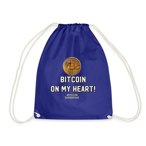 Bitcoin on my heart! - Sacca sportiva