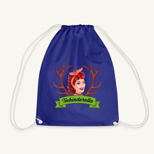 Original Tschinderella.com Logo - Turnbeutel