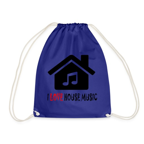 House Music Haus Party Shirt - Turnbeutel